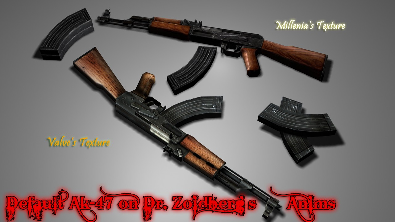 Default Valve Ak-47 on Dr. Zoidberg's Anims Update