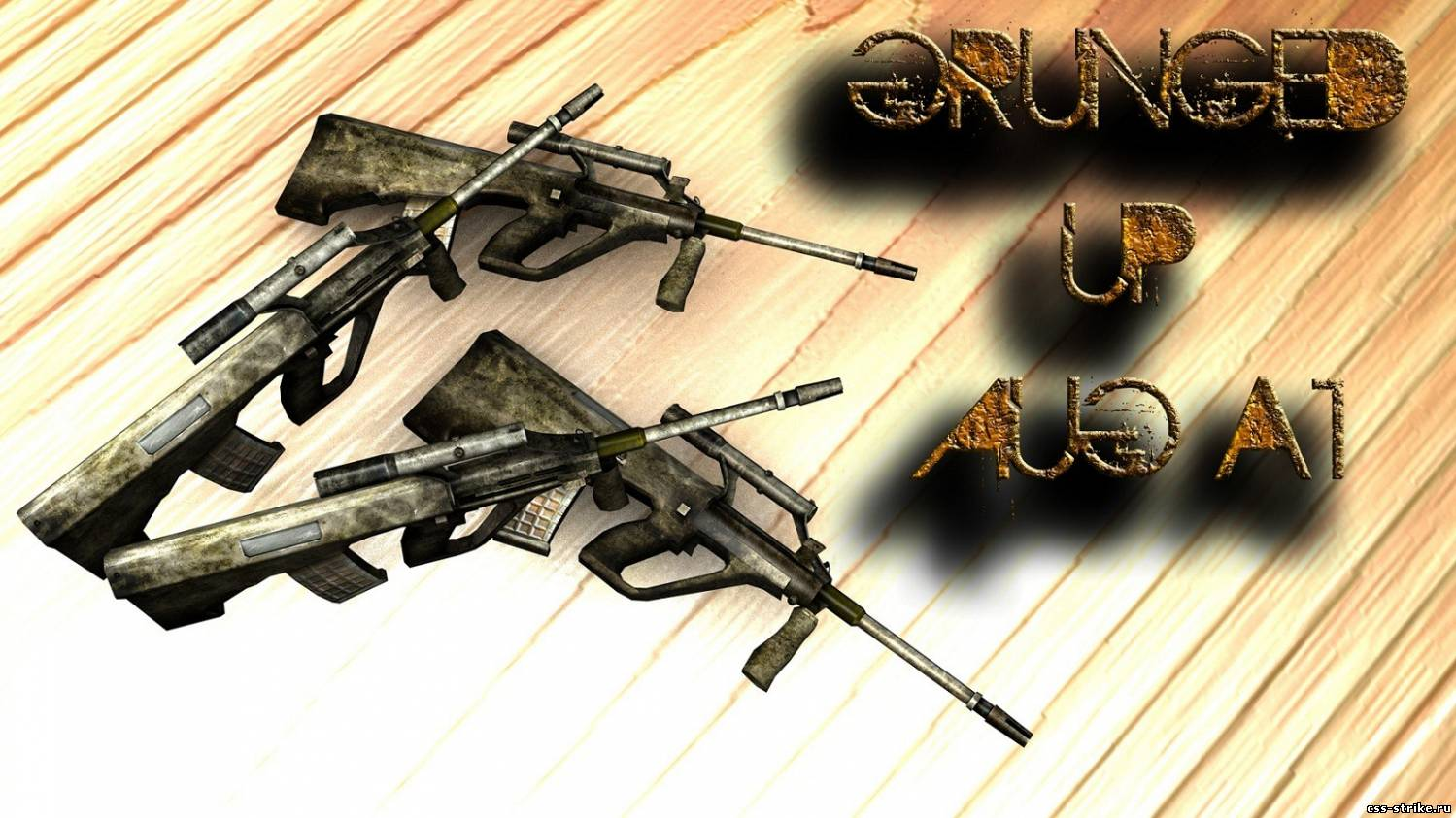 Grunged-Up AUG A1