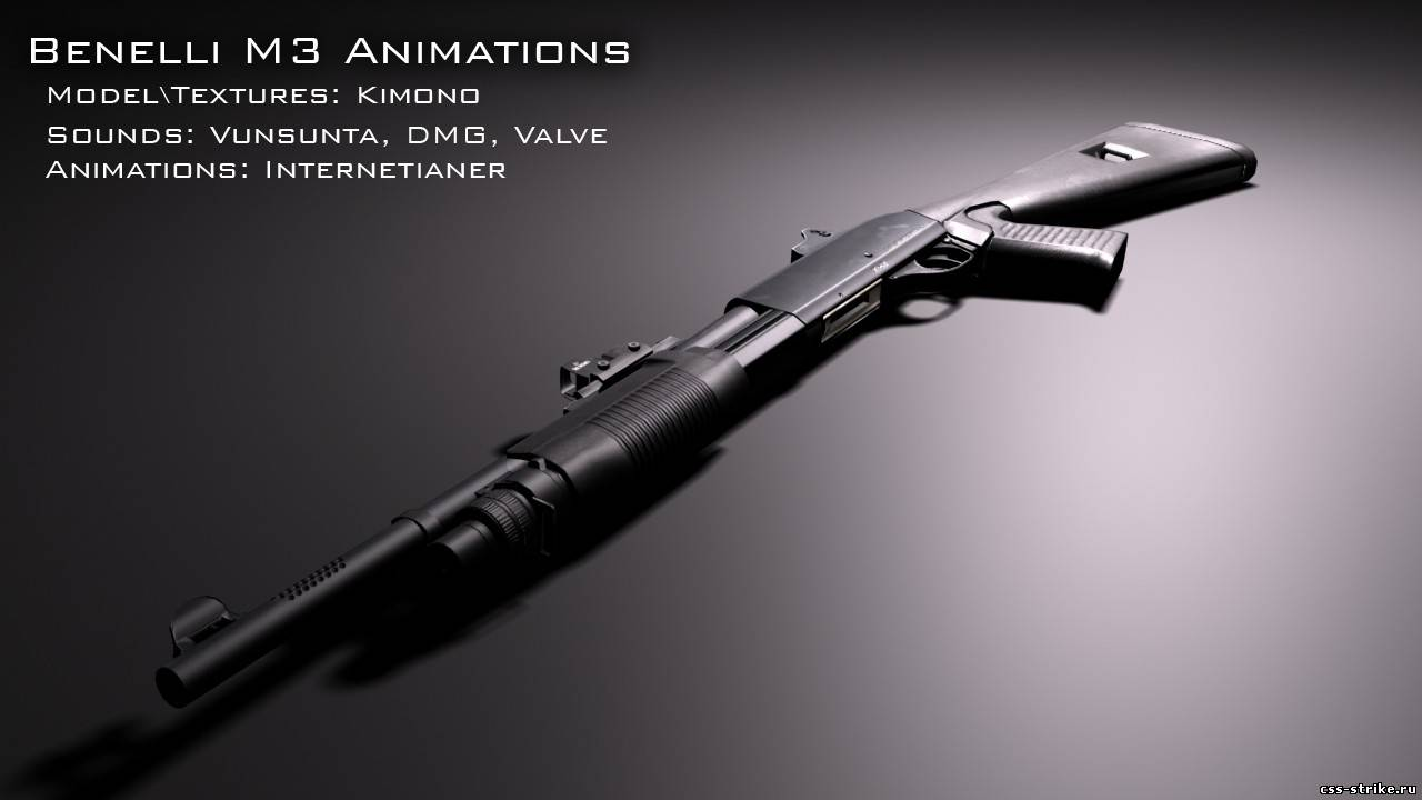 Benelli M3 Animations