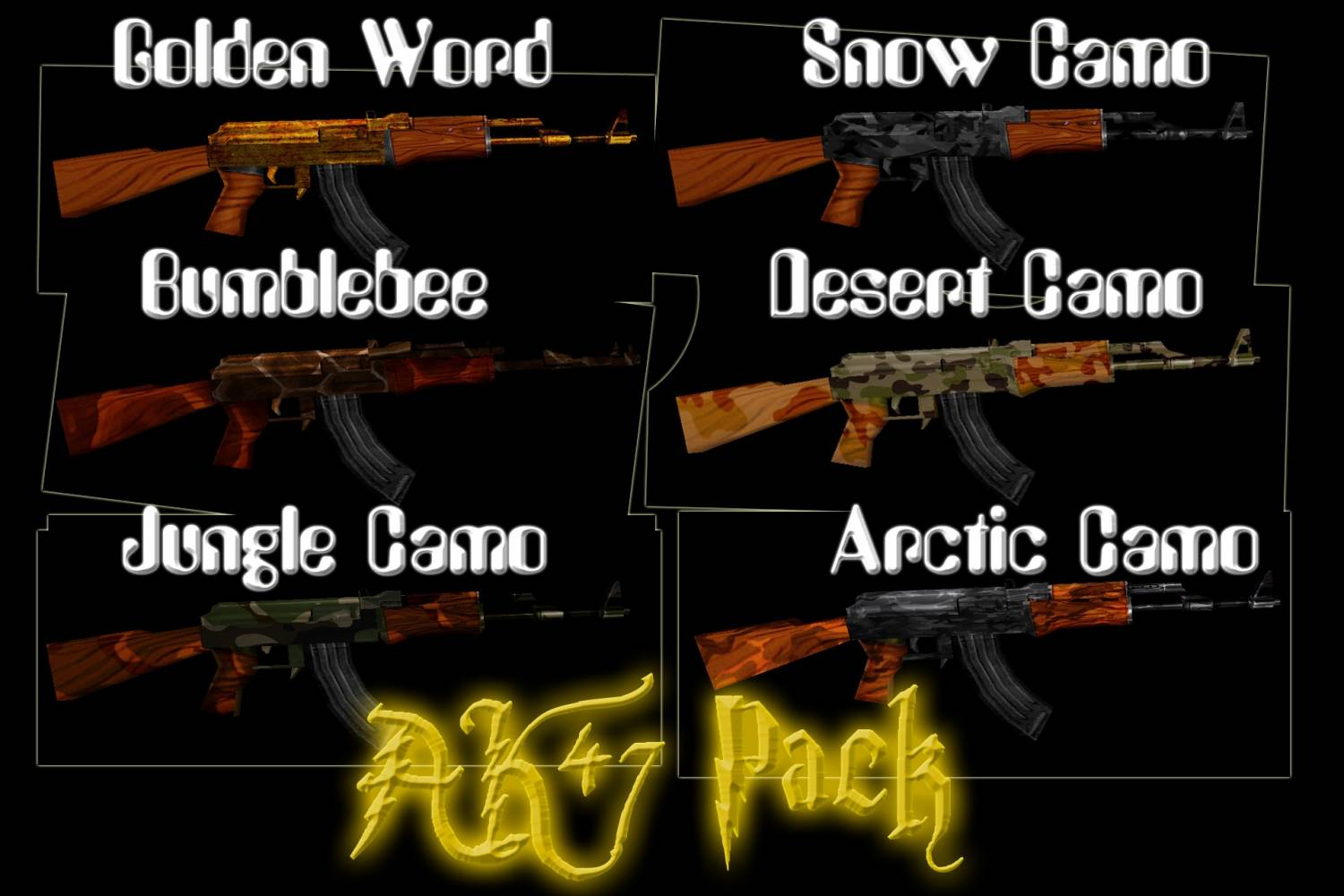 AK47 Pack on Sick420 Cod4-Anims