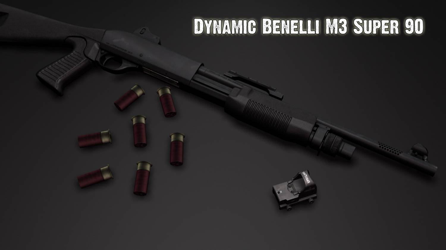 Dynamic Benelli M3 Super 90 Anims Pack