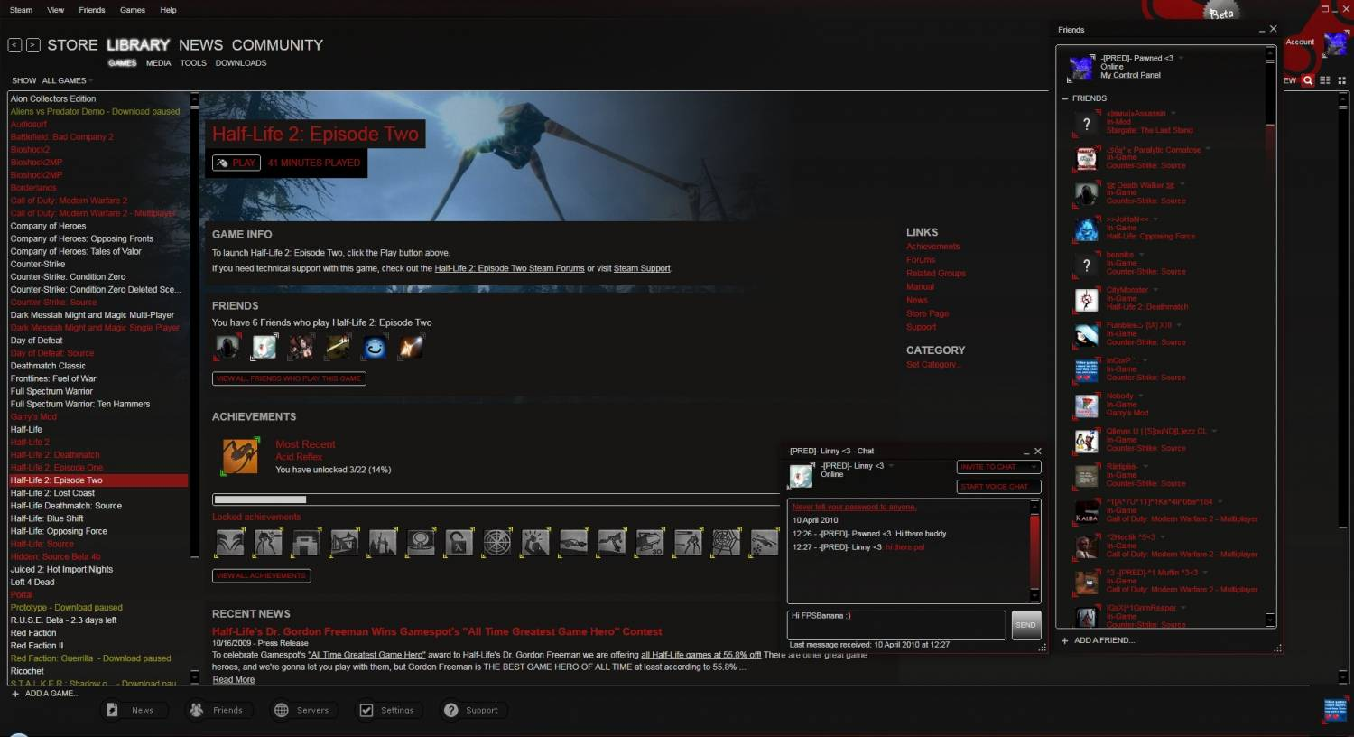 Pawned's Steam GUI
