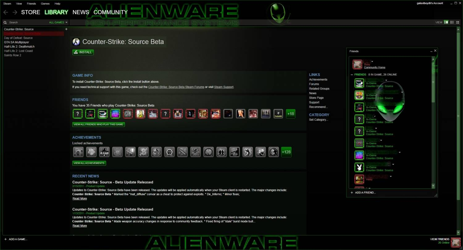 скачать Steam Alienware бесплатно