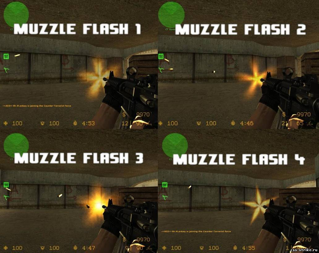 Various Muzzle Flash Pack