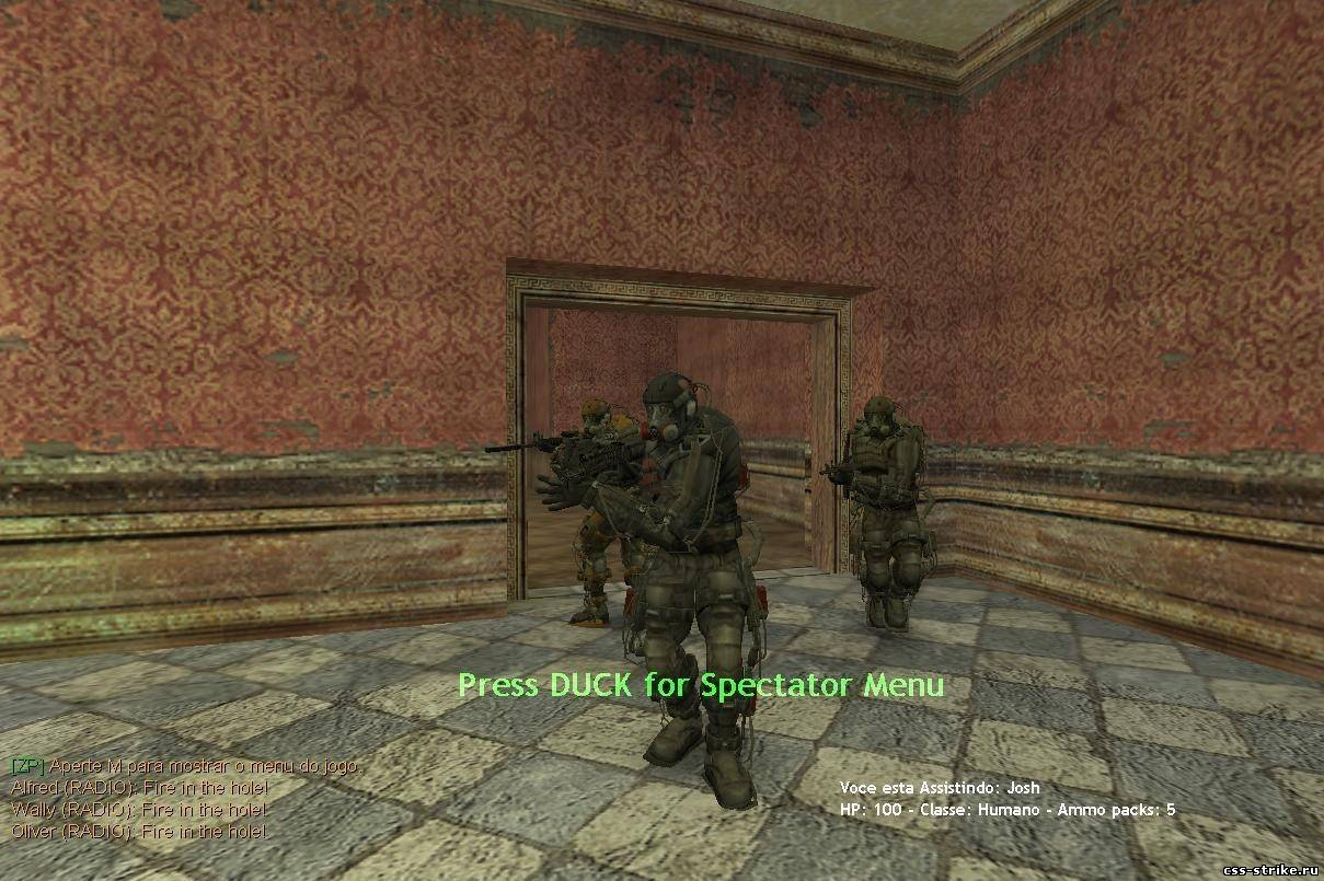 S.T.A.L.K.E.R Exoskeletons for cs1.6