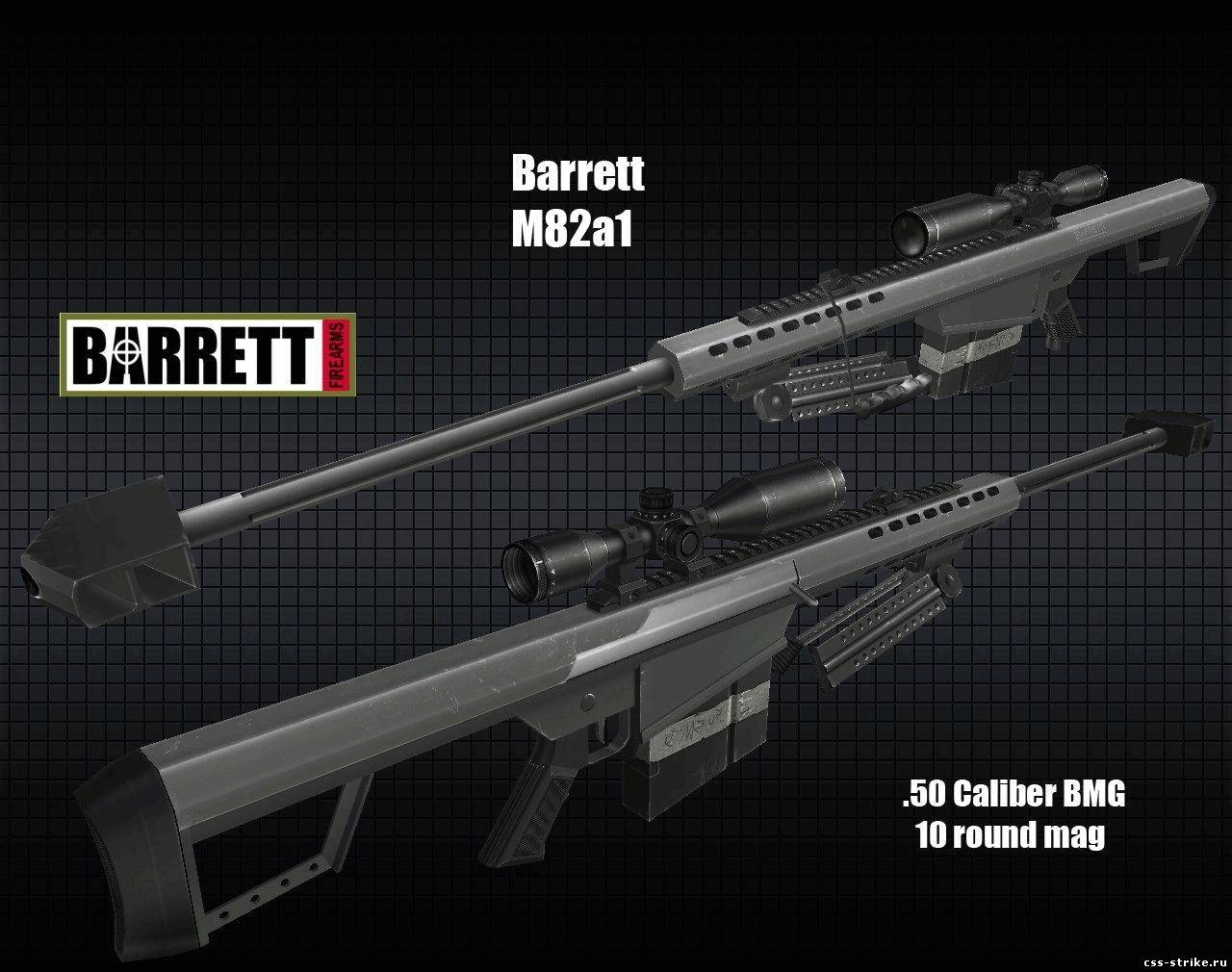 Barrett M82a1 for AWP