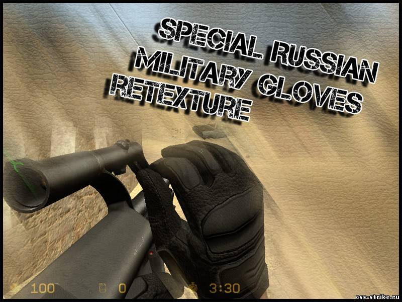 Special Russian Military Gloves retexture