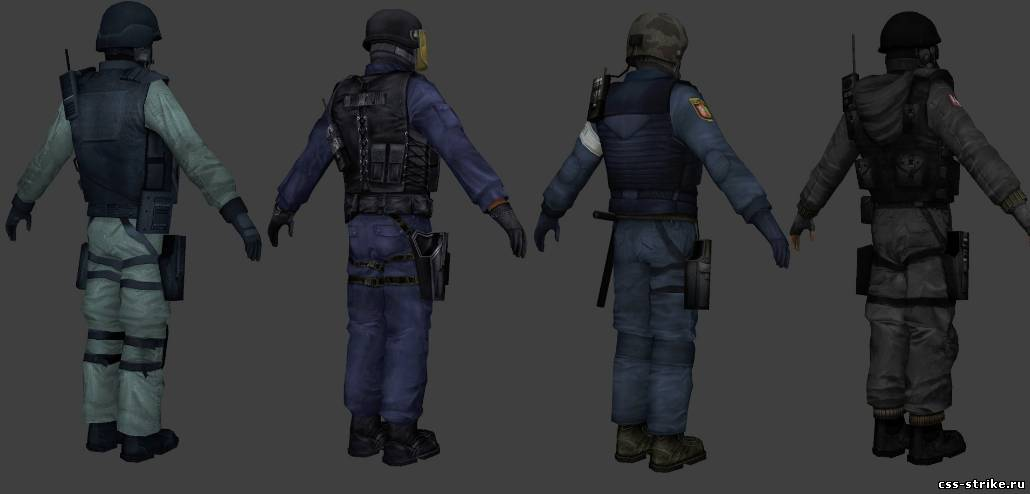 Realistic Counter Terrorist Units Pack